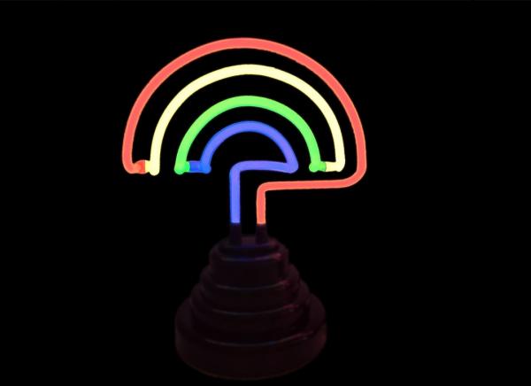 Lampa Neon Curcubeu 11