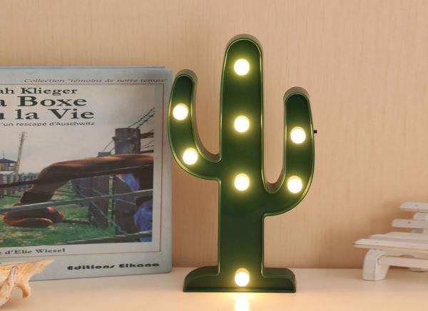 Lampa de Veghe LED Cactus 4