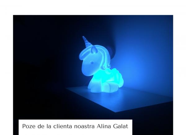 Lampa Gigant Unicorn