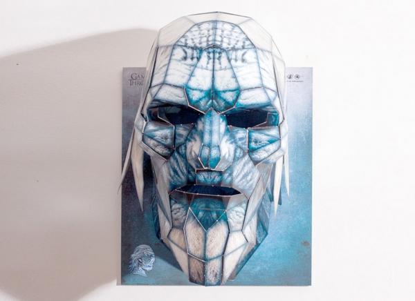 Masca 3D White Walker