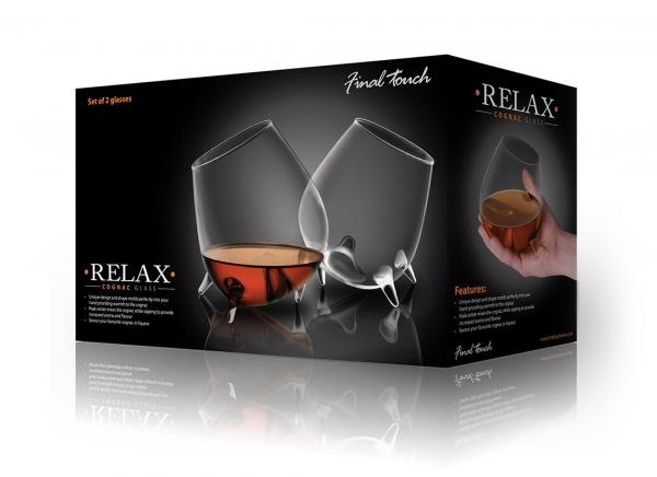 Pahare cognac Relax