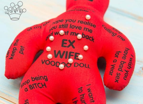 Papusa Voodoo pentru fosta sotie 2