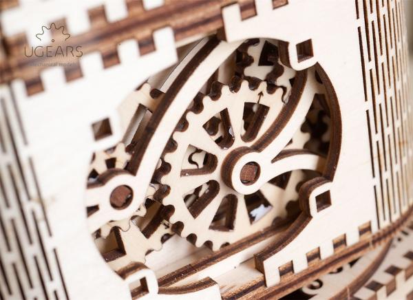 Puzzle 3D Cufar Comori - Model Mecanic din Lemn Ugears 14