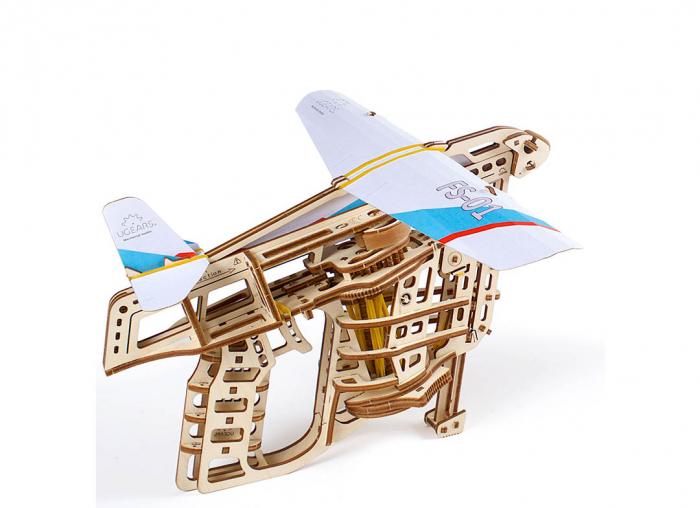 Puzzle 3D Flight Starter din lemn Ugears 13