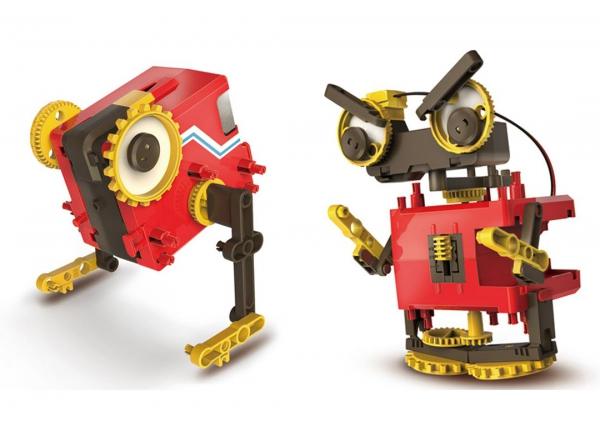 Robot educational motorizat 4 in 1 4