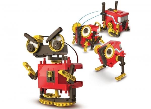 Robot educational motorizat 4 in 1 5