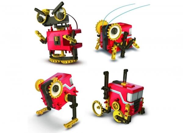 Robot educational motorizat 4 in 1 6