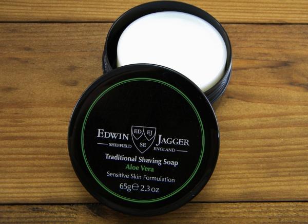 Sapun pentru barbierit Aloe Vera 65G, Edwin Jagger 1