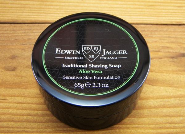 Sapun pentru barbierit Aloe Vera 65G, Edwin Jagger 2