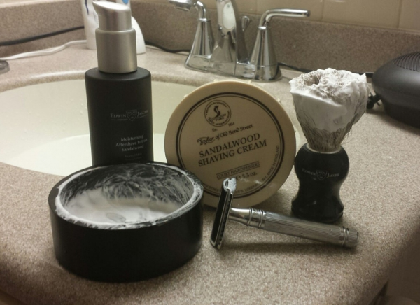 Set cadou barbati My first shaving kit, Edwin Jagger 1