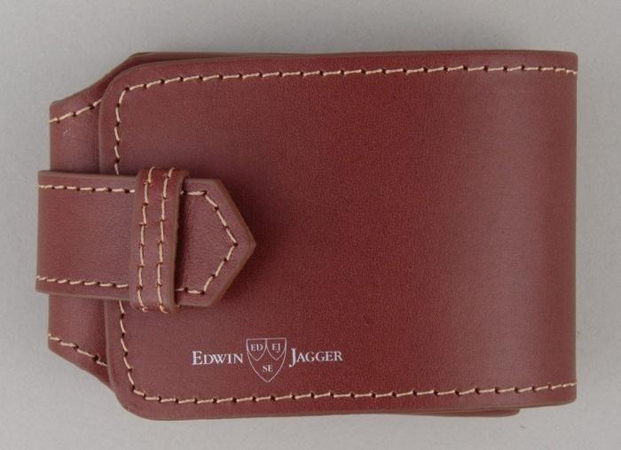 Set cadou de calatorie cu Aparat de Ras cromat cu lama Gillette Fusion Proglide Edwin Jagger 4