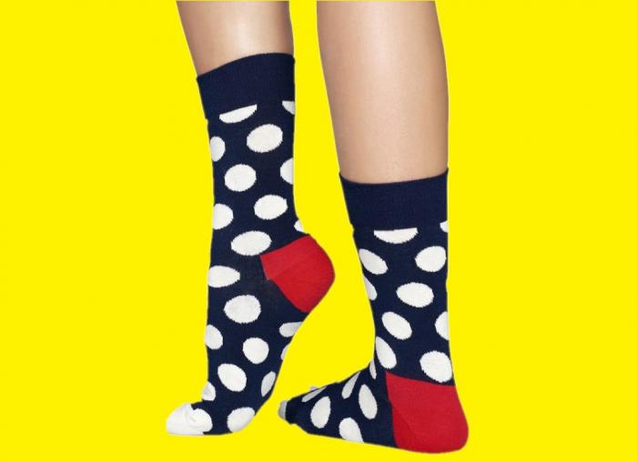 Sosete Happy Socks buline uriase  - Happy Socks