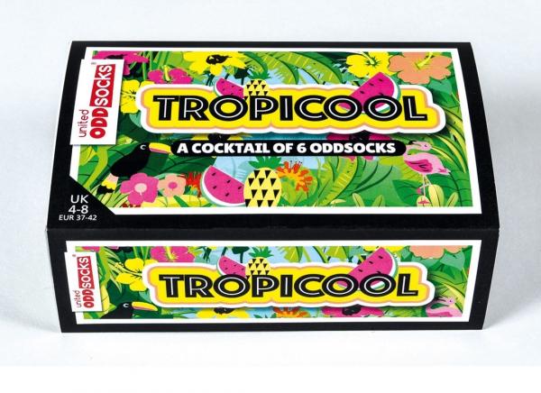 Set 6 Sosete cu Design Tropical 10