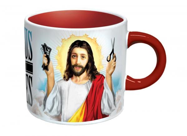 Cana Jesus Shaves