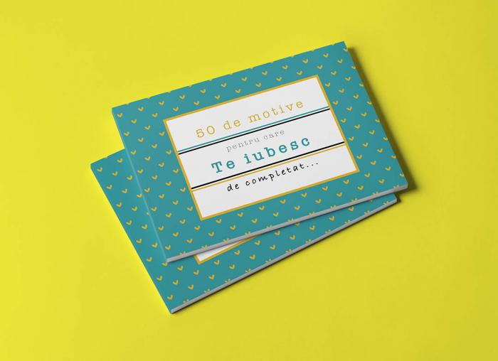 Carte cadou Iubit 50 Motive pentru care te iubesc 0