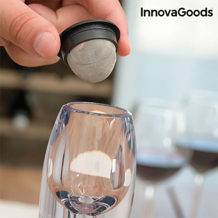Decantor vin pentru gusturi rafinate 2