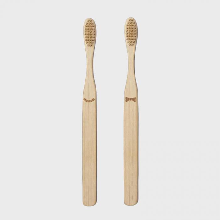 Doamna si papionul periute de dinti pentru cupluri 4