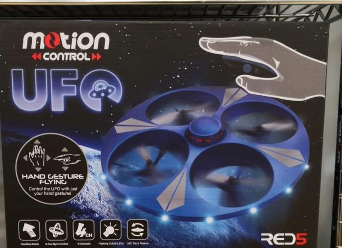 Drona UFO cu senzor de miscare 3