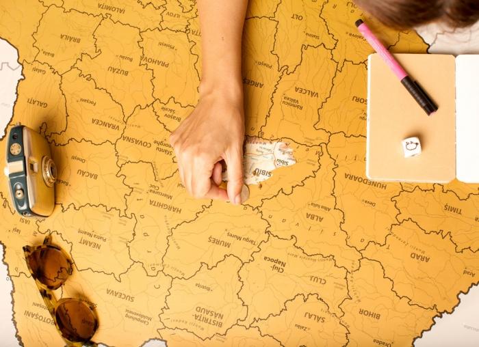 Harta Razuibila a Romaniei 1