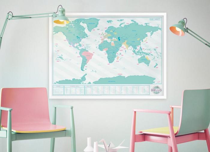 Harta razuibila Editia Hello - Originala Luckies 0