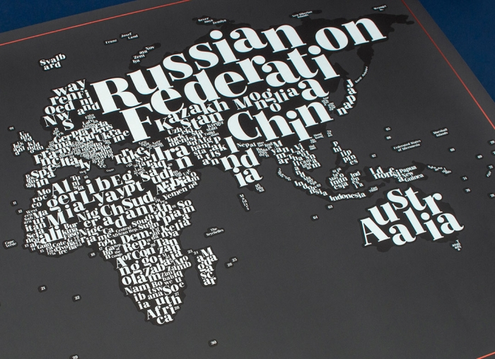 Harta razuibila Typogeography
