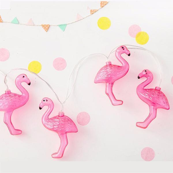 Instalatie de lumini Flamingo Roz 10
