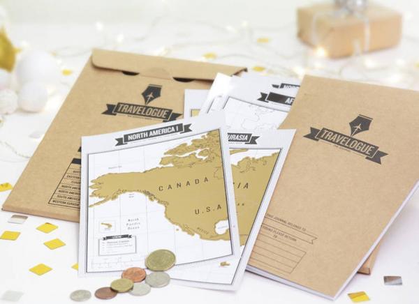 Jurnal de voiaj Travelogue cu harti razuibile 5