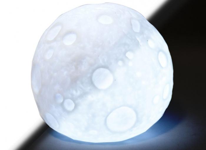 Lampa de veghe in forma de luna 2