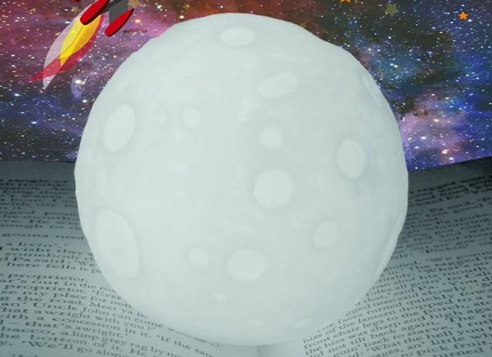 Lampa de veghe in forma de luna 1