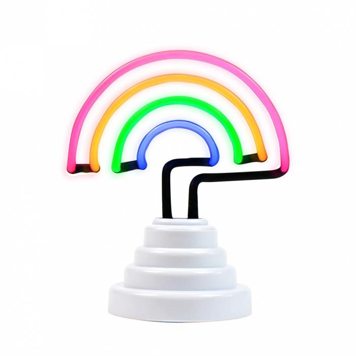 Lampa Neon Curcubeu 3