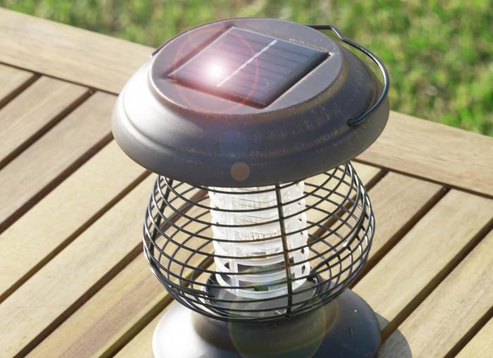 Lampa solara impotriva tantarilor 2