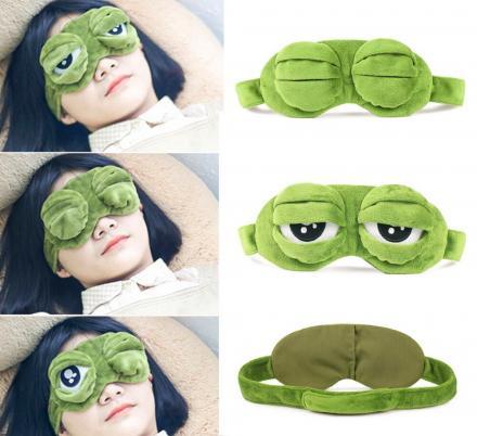 Masca de dormit Broscuta curioasa 7