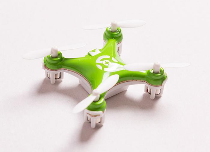 Mini Drona Cheerson CX-10 Verde 3