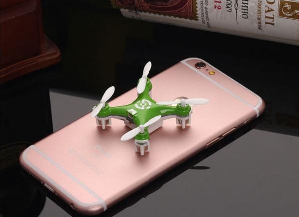 Mini Drona Cheerson CX-10 Verde 1