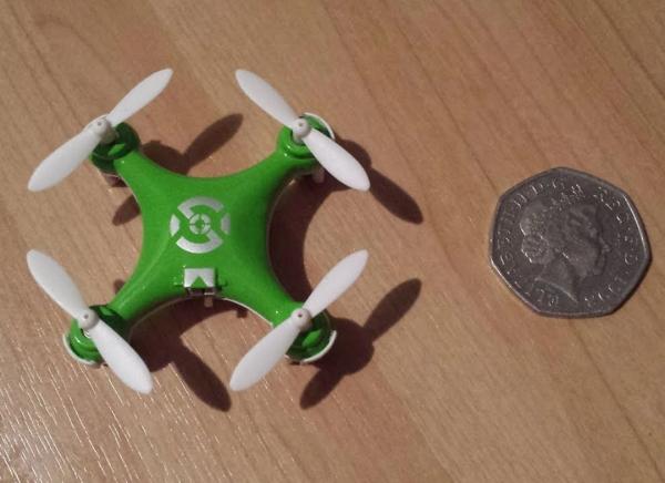Mini Drona Cheerson CX-10 Verde 5