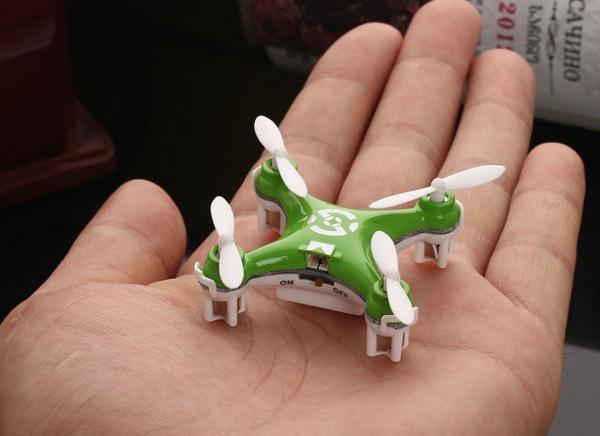 Mini Drona Cheerson CX-10 Verde 2