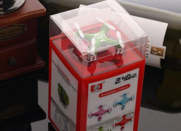 Mini Drona Cheerson CX-10 Verde 6