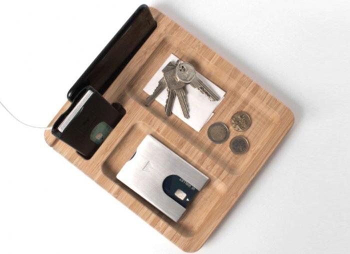 Organizator birou din lemn 0