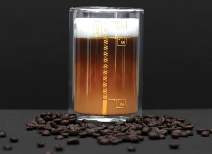 Pahar cu proportii pentru cafea 0