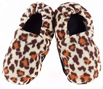 Papuci cu incalzire la microunde Leopard 2