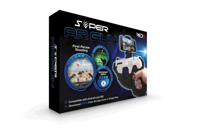 Pistol Super AR pentru jocuri pe telefon 5