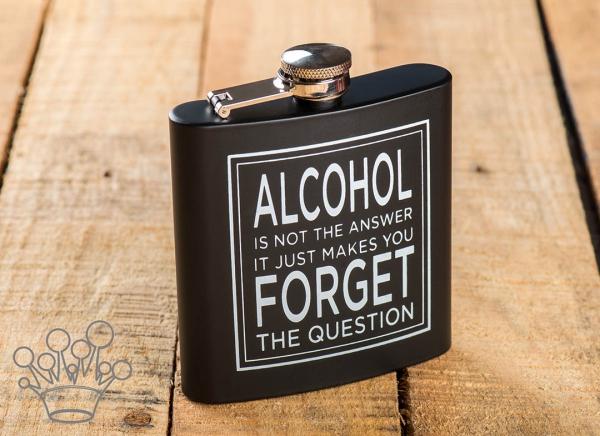 Plosca Alcoolul nu e raspunsul 0
