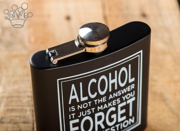 Plosca Alcoolul nu e raspunsul 1