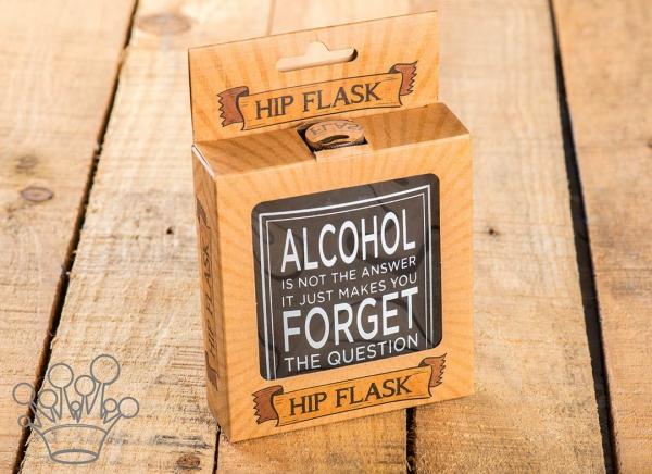Plosca Alcoolul nu e raspunsul 3