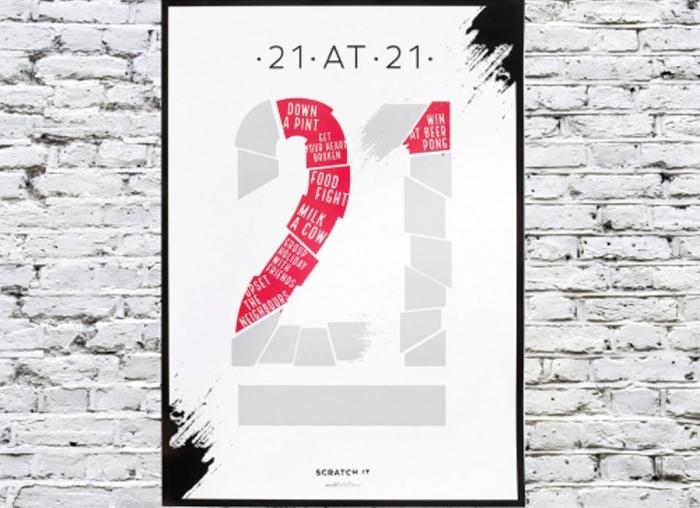 Poster razuibil 21 de ani