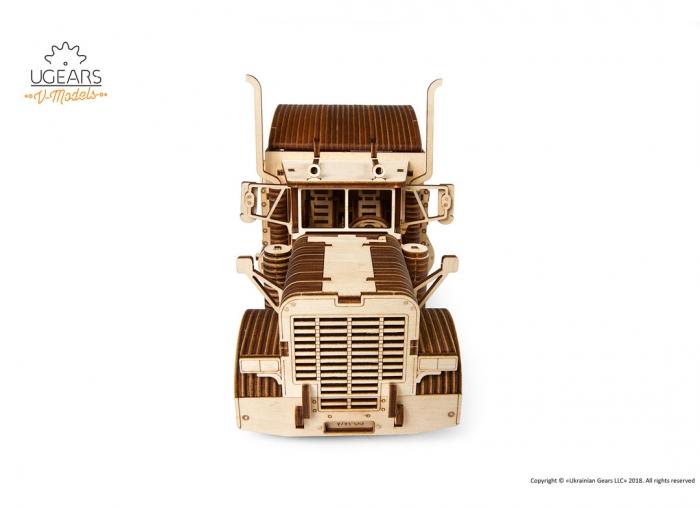 Puzzle 3D Camion VM-03 din lemn Ugears 11