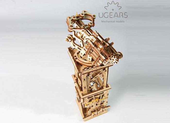 Puzzle 3D Turn Archballista din lemn Ugears 6
