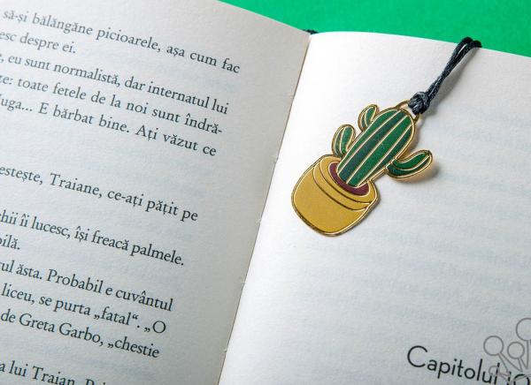 Semn carte Cactus 5