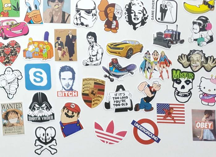 Set Stickere laptop Indraznete 6