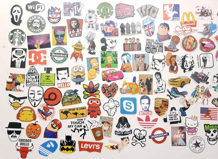 Set Stickere laptop Indraznete 2